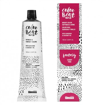 Mascarilla Color Beat Fantasy Candy Pink 100ml Glossco