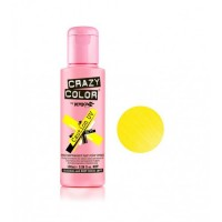 Crazy Color Neon Caution Yellow 100ml